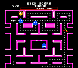 Ms. Pac-Man ingame screenshot