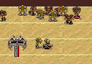Mutant League Football ingame screenshot