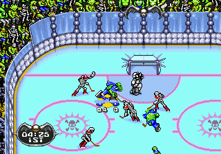 Mutant League Hockey ingame screenshot