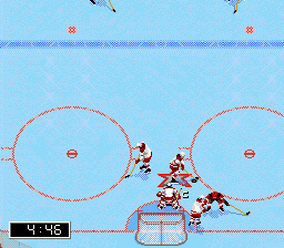 NHL 96 ingame screenshot