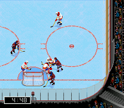 NHL 97 ingame screenshot