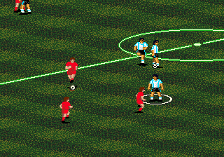 Pele 2 - World Tournament Soccer ingame screenshot