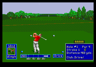 PGA European Tour ingame screenshot