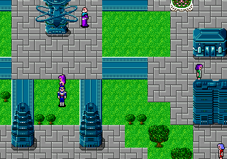 Phantasy Star II ingame screenshot