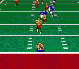 Pro Quarterback ingame screenshot