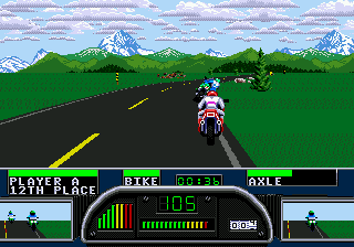 Road Rash 2 ingame screenshot