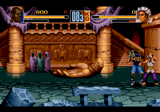 Shaq-Fu ingame screenshot