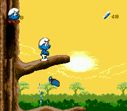 Smurfs Travel the World, The ingame screenshot