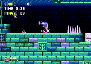 Sonic The Hedgehog 3 ingame screenshot