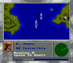 Super Battleship ingame screenshot