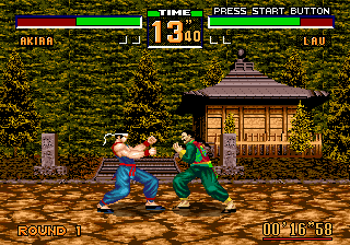 Virtua Fighter 2 ingame screenshot