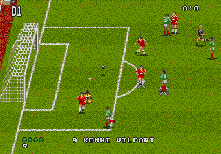 World Trophy Soccer ingame screenshot