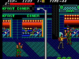 Streets of Rage ingame screenshot