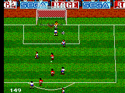 Ultimate Soccer ingame screenshot