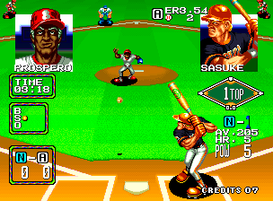 Baseball Stars 2 ingame screenshot