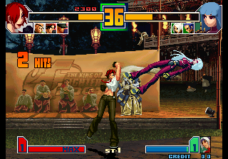 King of Fighters 2001, The ingame screenshot