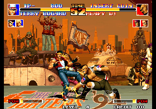 King of Fighters '94, The ingame screenshot
