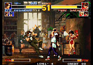 King of Fighters '95, The ingame screenshot