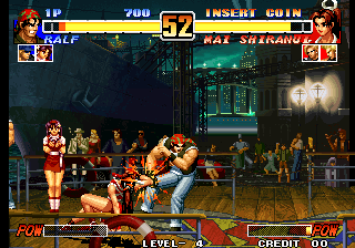King of Fighters '96, The ingame screenshot