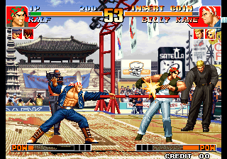 King of Fighters '97, The ingame screenshot