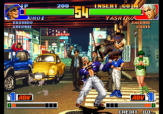 King of Fighters '98, The ingame screenshot