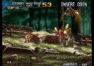 Metal Slug 3 ingame screenshot