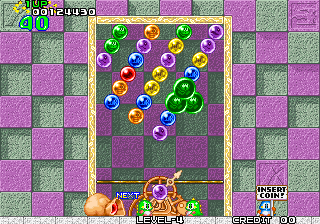 Puzzle Bobble : Bust-a-Move ingame screenshot
