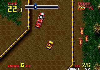 Thrash Rally ingame screenshot