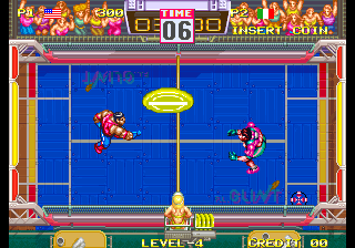 Windjammers : Flying Power Disc ingame screenshot