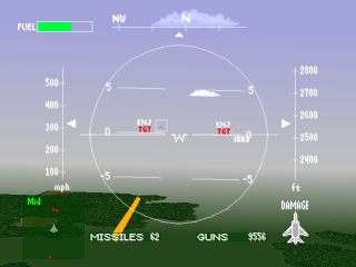 Air Combat ingame screenshot