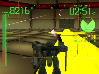 Armored Core ingame screenshot