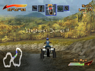 ATV Mania ingame screenshot