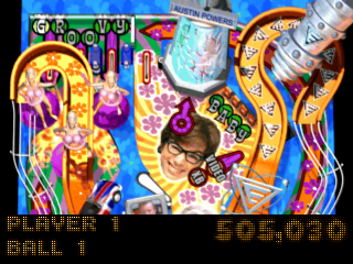 Austin Power's Pinball ingame screenshot