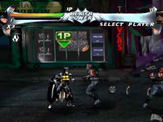 Batman Forever - The Arcade Game ingame screenshot