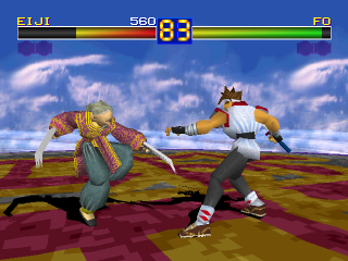 Battle Arena Toshinden ingame screenshot