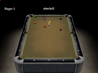 Billiards ingame screenshot