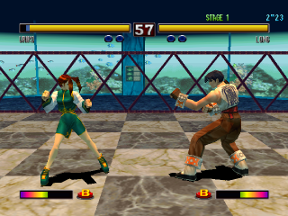 Bloody Roar II ingame screenshot
