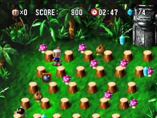 Bomberman World ingame screenshot