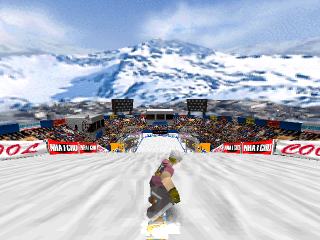 Cool Boarders 2 ingame screenshot