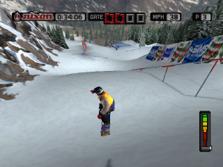 Cool Boarders 2001 ingame screenshot