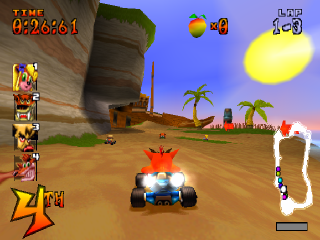 CTR - Crash Team Racing ingame screenshot