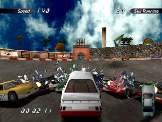Destruction Derby 2 ingame screenshot