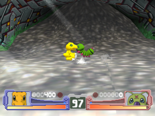 Digimon Rumble Arena ingame screenshot