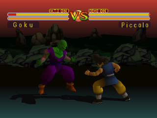 Dragon Ball GT - Final Bout ingame screenshot