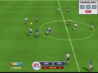 2002 FIFA World Cup - Japan Korea ingame screenshot