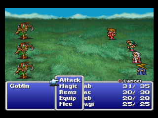 Final Fantasy Origins ingame screenshot