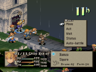 Final Fantasy Tactics ingame screenshot