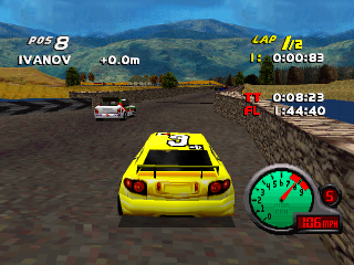 Grand Tour Racing '98 ingame screenshot