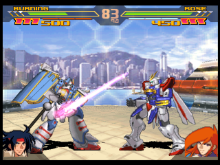 Gundam Battle Assault 2 ingame screenshot