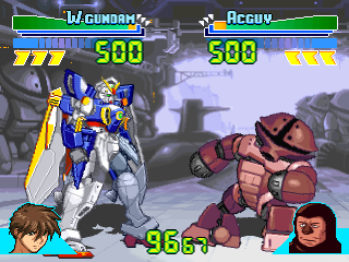 Gundam Battle Assault ingame screenshot